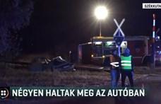 Ralis társai búcsúztatták a 18 éves fiút, aki egy vasúti átjáróban halt meg