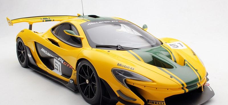 Mit tippel, mennyibe kerül ez a McLaren P1 makett? Segítünk: nagyon sokba