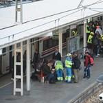 Túlfutott és baknak ütközött egy vonat Spanyolországban, sokan megsérültek