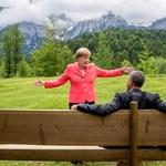 Merkel a hoteljében látogatta meg Obamát Berlinben és együtt vacsoráztak