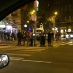 Budán és Pesten is megbénult a közlekedés