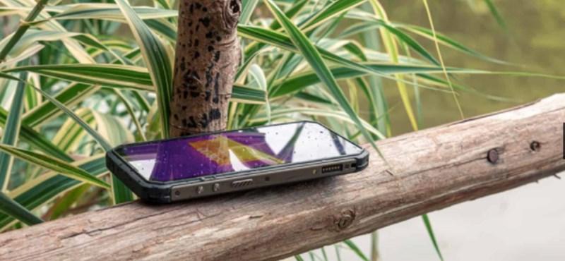 Hőkamera, 6600 mAh-s akku, megerősített oldalak – strapabíró telefonra gyűjtik az előrendeléseket
