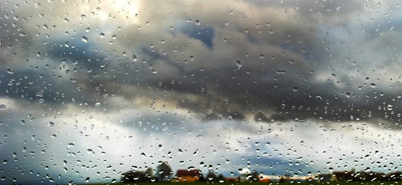 Borongós napunk lesz, sokfelé esni is fog