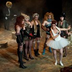 Fotó: horvát színészek az Új Színházban