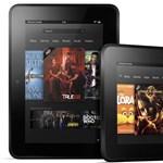 Új Amazon Kindle táblagépek minden árban és méretben