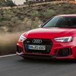 Akár 280-nal is száguldhat a család, itt kopogtat az ajtón az új kombi Audi RS4