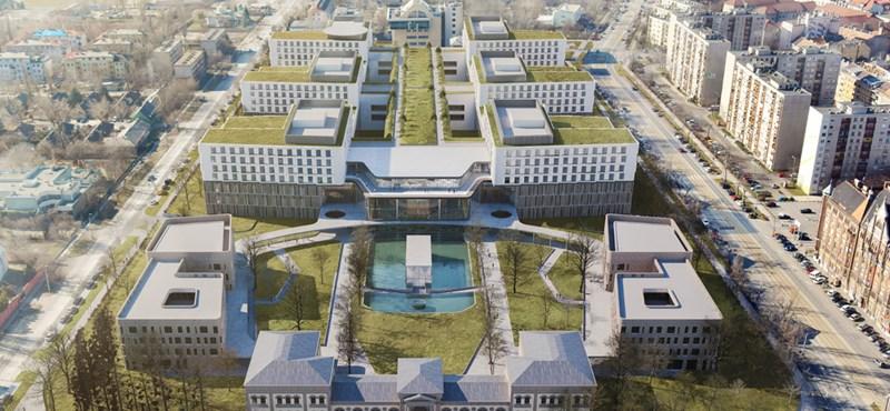 A legmenőbb kórházsorozatokban látni olyan épületeket, mint amilyen a dél-pesti kórház lesz – fotók