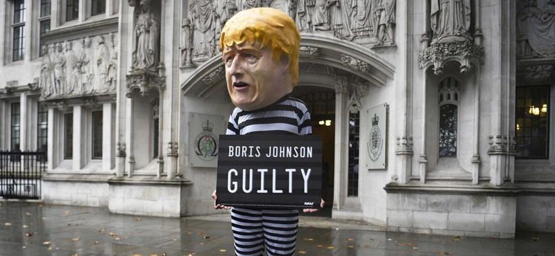 Boris Johnson akkora pofont kapott, hogy beleremegett az Egyesült Királyság