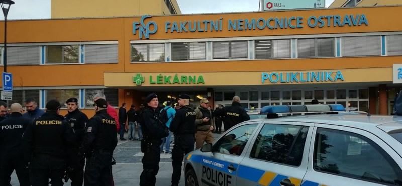 Ámokfutó lövöldözött egy cseh kórházban, hat halott