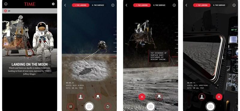 Próbálja ki, ezzel az appal otthon is végigjátszhatja a holdra szállást