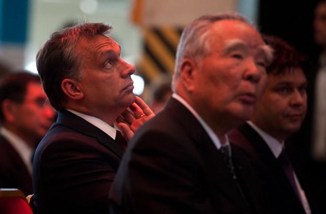 Orbán Viktor és Osamu Suzuki