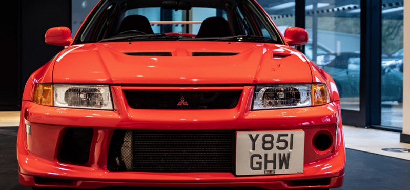 Nem véletlen, hogy 42 millió forintot fizettek ezért a régi Mitsubishiért