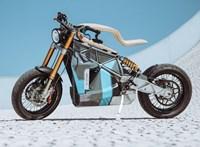 Dizájnban verhetetlennek tűnik ez az elektromos motorkerékpár