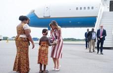 Füstölni kezdett a repülő, amellyel Melania Trump utazott