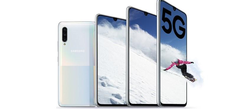 Hivatalos a Samsung új telefonja: tízezrekkel olcsóbb, de van benne erő