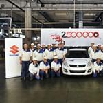Mi más, mint egy fehér Swift lehetne a két és fél milliomodik magyar Suzuki