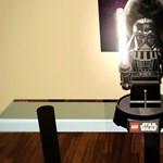 LEGO Dart Vader asztali lámpa, zseniális használati útmutatóval [videó]
