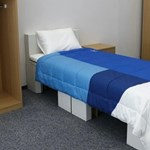 It's not true that the Tokyo Olympics got sexless beds