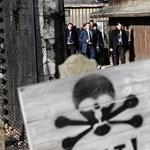 Először látogatott Auschwitzba Merkel