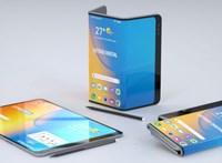 Izgalmasnak tűnik: három részből hajtogatna új telefont az LG