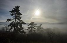 14 megyére adtak ki figyelmeztetést a sűrű köd miatt