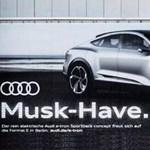 Mekkora szóviccel szólt be a Teslának az Audi?!