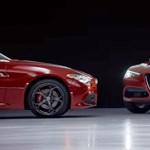 Videó: 10/10-es, ahogy ez a két Alfa Romeo jégtáncol