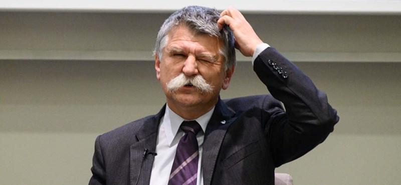 Kövér László végre észrevette, hogy a rekordbüntetésekből az ellenzék kovácsol fegyvert