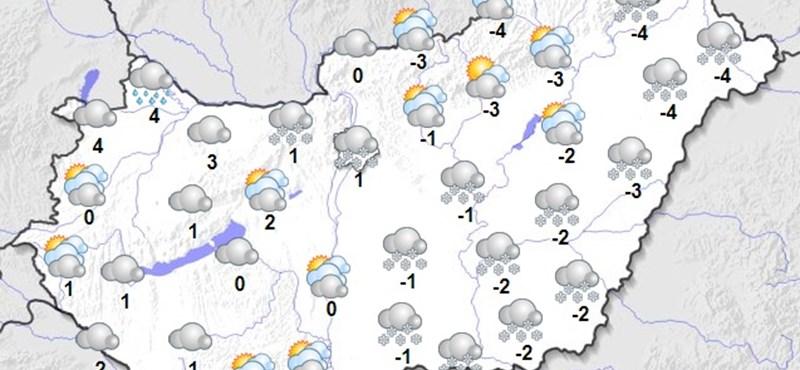 Hó, eső, szél, ez vár minket szombaton