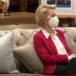 Csak egy kanapén jutott hely Von der Leyennek az EU és Törökország isztambuli találkozóján