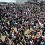Újabb áldozata van a fehérorosz tüntetéseknek