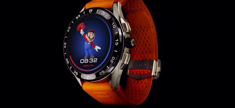En colaboración con Nintendo y TAG Heuer, el resultado es este reloj Super Mario