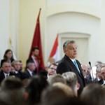"""Orbán: """"Sikerült erős és tekintélyes európai középállammá tennünk Magyarországot"""""""
