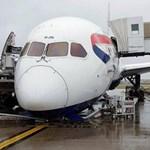 Orra bukott a British Airways gépe a Heathrow repülőtéren