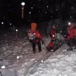 A magyar hegymászók indították el a lavinát  - videó a mentésről