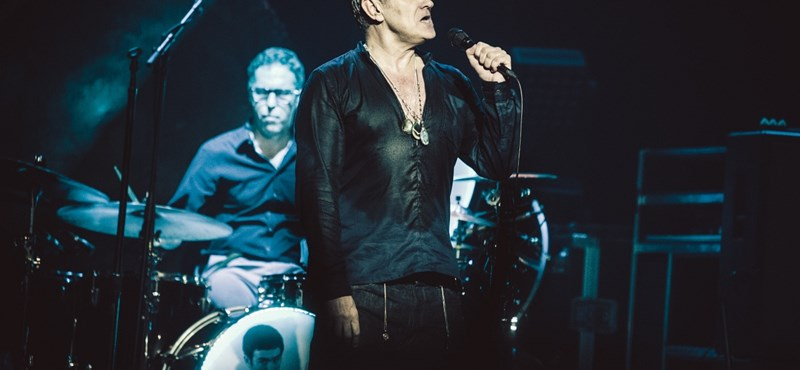 """""""Nekem visszajár a múlt idő"""" – Morrissey a Millenárison"""