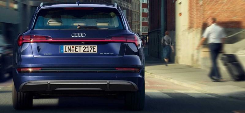 25 kilométer, ennyivel nőtt az Audi villanyautójának hatótávja
