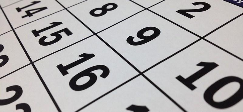 Újabb négynapos hétvége jön - mutatjuk, mikor pihenhettek több napig