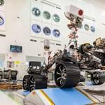 Fontos mérföldkőhöz érkezett a NASA új marsjárójának tesztje