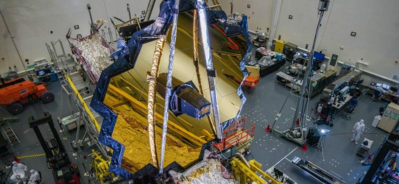 Bemondta a NASA, mikor lőhetik fel végre a Hubble utódjának szánt űrtávcsövet