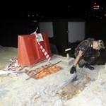 Csak éjfél körül keveredtek haza a BAH-csomópontnál kitelepített emberek
