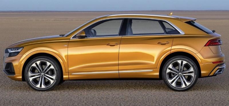 Benzin és dízel fronton is újít az Audi hatalmas divatterepjárója, a Q8