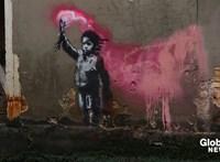 Érdekes helyen bukkant fel egy új Banksy-alkotás Velencében
