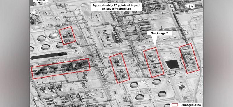 Műholdképeken látszik, mekkora kárt okozott a világ legnagyobb olajfinomítóját ért dróntámadás