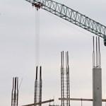 Erősen csökkent az építőipari termelés