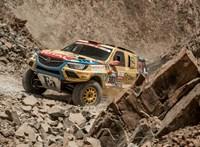 Még előrébb jutottak Szalayék a Dakaron