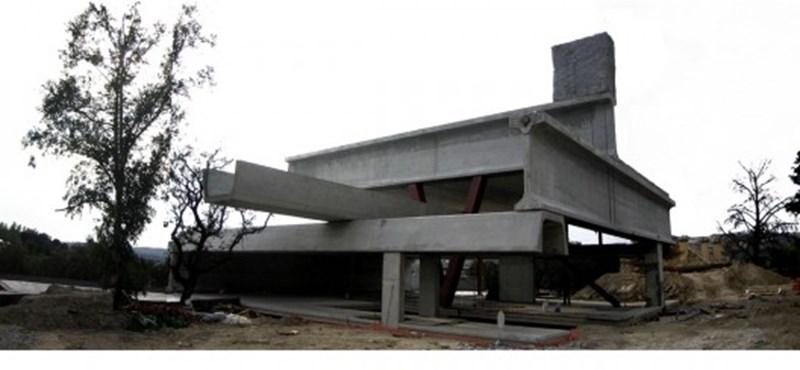 Évekig tervezték, 7 nap alatt felépült: meghökkentő ház