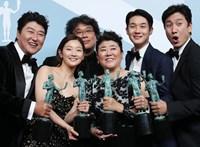 Az Élősködők kapta a hollywoodi színészcéh díját