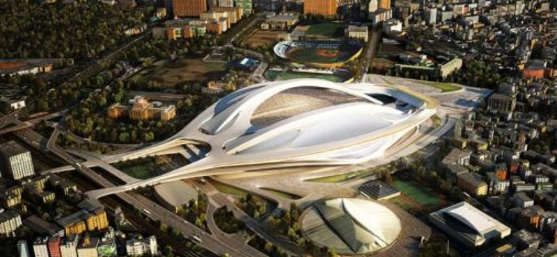 Túl drága, Japán lefújta a tervezett stadionépítést