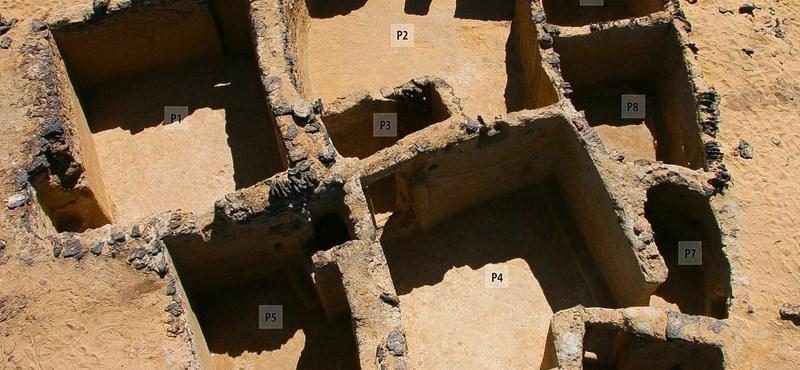 Ősi keresztény templomok és kolostorok maradványai bukkantak elő egy egyiptomi ásatáson